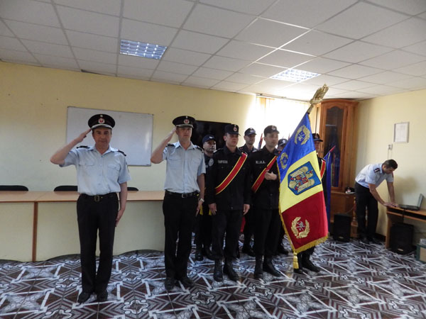 Ceremonie depunere juramant militar la ISU Neamt
