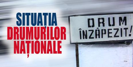 SITUATIA DRUMURILOR NATIONALE SI A AUTOSTRAZIILOR DIN ROMANIA